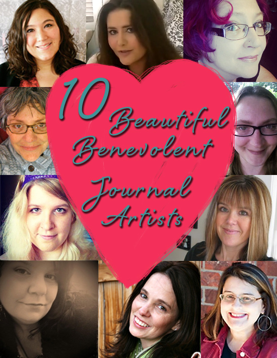 10 Beautiful Benevolent Journal Artists