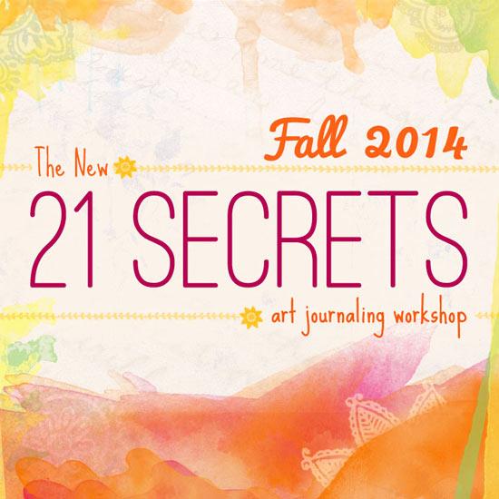 21 Secrets Art Journaling Workshop