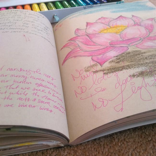 lotus journaling