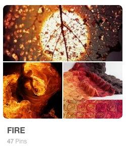 Fire Pinterest Board