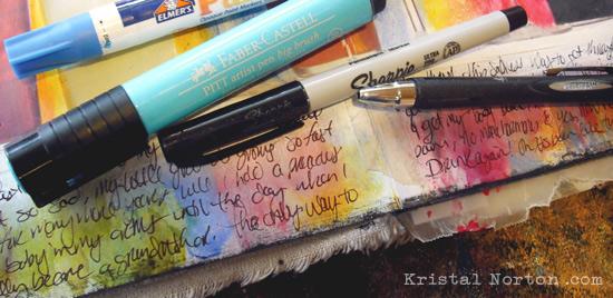 Art Journaling Pens