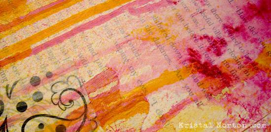 Art Journaling 101 The Blank Page Kristal Norton