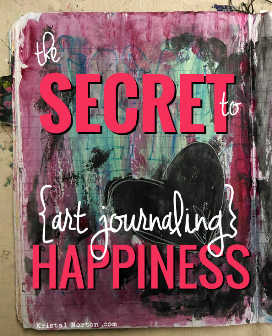 The Secret to Art Journaling Happiness