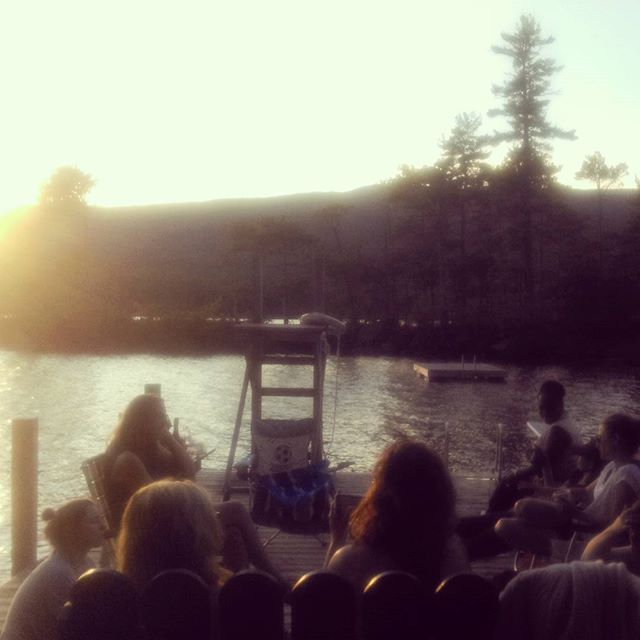 Squam Dock Parties
