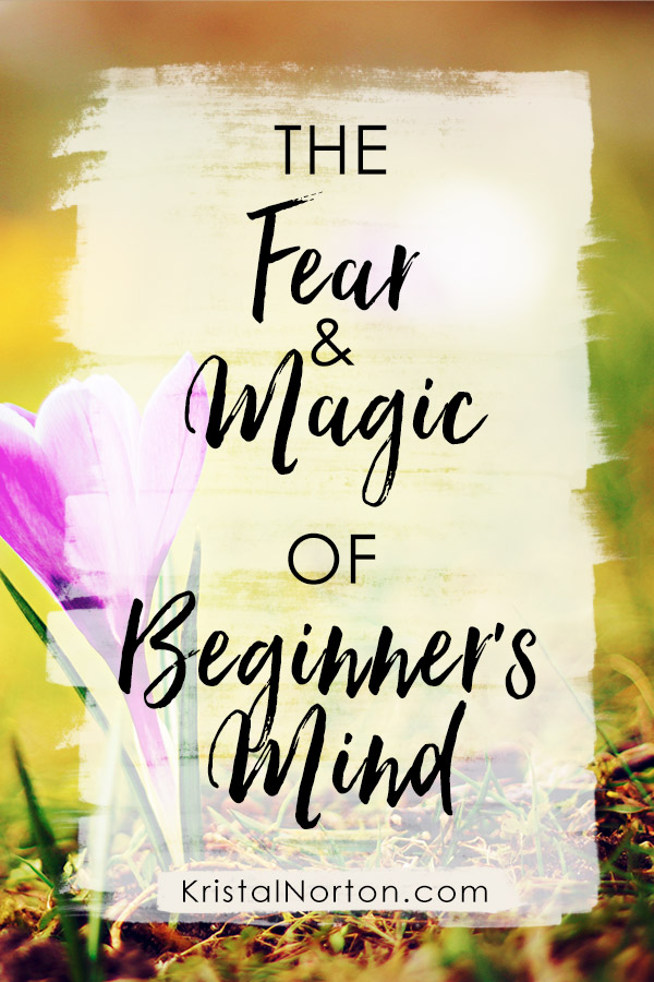 The Fear and Magic of Beginner's Mind